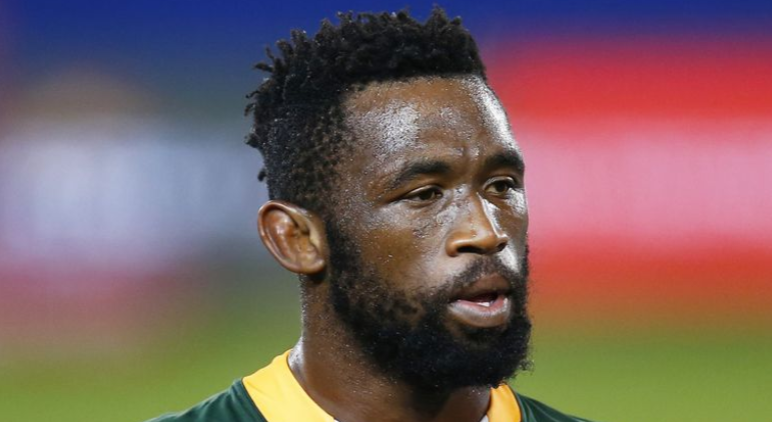 Siya Kolisi: The South African captain tested positive for the coronavirus prior to the Lions series.